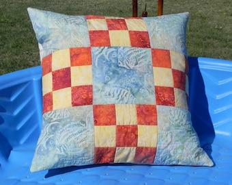 Aquarium Pillow Cover
