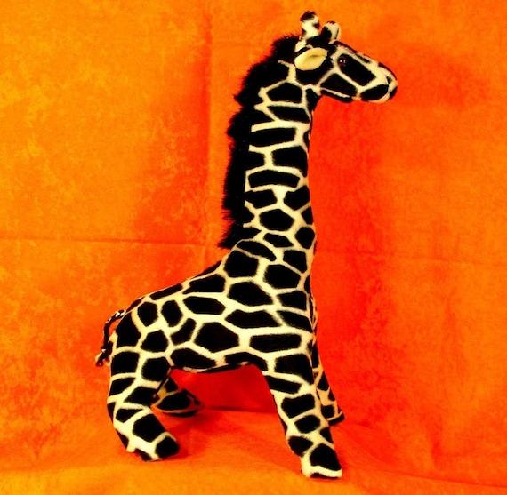 Nähen Muster machen eine Baby-Giraffe Tieren-Design von