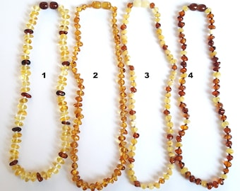 Baltic amber baby necklace amber teething necklace amber necklaces for babies baltic amber teething necklace amber baby gift child necklace