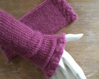handmade arm warmers, fingerless gloves, wrist warmers