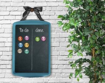 Chore Board + Magnets – Magnetic Chore Chart, Magnetic Chore Board, Magnetic Board, Command Center, Family Chores, Chore Tracker