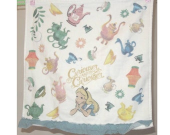 Disney Alice in Wonderland Hand Towel 35 x 34cm