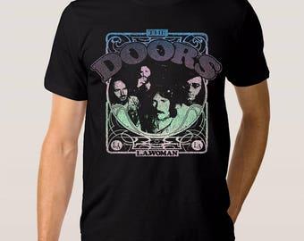 The Doors \u0027LA Woman\u0027 T-Shirt All Sizes  sc 1 st  Etsy & The doors t shirt   Etsy