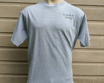 Vintage S.A.D.D (SADD) High School T-Shirt