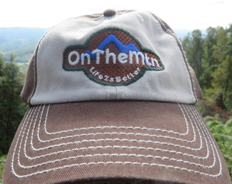 Life Is Better On The Mountain Cotton Hat