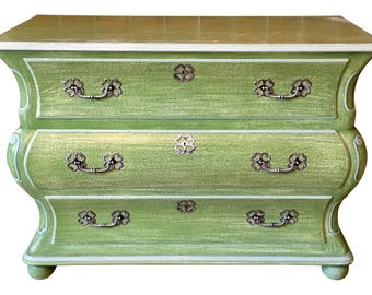 Interior Crafts Inc Chartreuse Green Commode