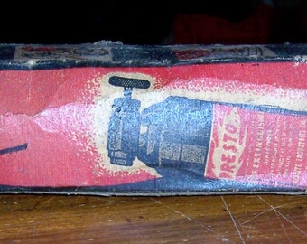 Presto fire extinguisher