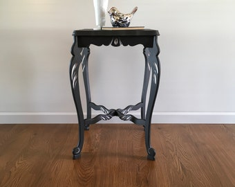 Lady Gray Vintage End Table