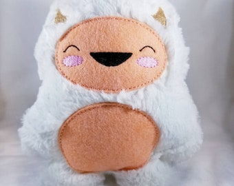 Furry Yeti - Yeti Plush - Abominable Snowman - Ready to Ship!