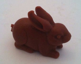 Bunny Soap, Rich Dark Chocolate