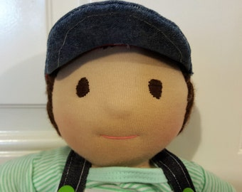 William - 16 in. Waldorf inspired doll