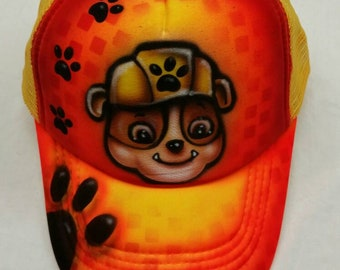 Custom airbrush snapback hat toddler size only add a name