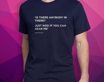 Comfortably numb T-Shirt, Radiohead, Simple, Lyrics, Clothing, Unisex T