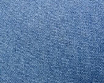 8 oz Stonewash Dark Blue Denim Fabric Slipcovers Apparel Upholstery