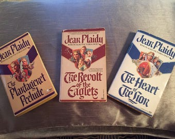 Vintage 3 British Historical Fiction by Jean Plaidy