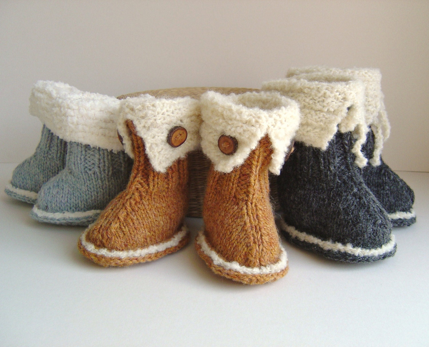 Knitting Pattern Baby Booties Quick And Easy Knitting Tutorial