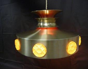 1970s Danish Ovni Pendant Ceiling Light from Vitrika