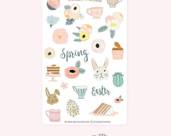 Decorative Planner Stickers | EASTER