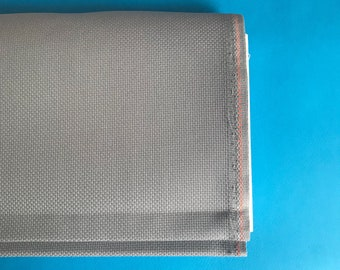 Misty blue aida fabric, zweigart, 14 count aida, cross stitch fabric, embroidery fabric, dusty blue, 100% cotton aida, premium cross stitch