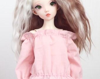 Cotton Blouse for SLIM MSD BJD dolls MiniFee