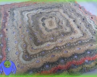 Biscuit Virus - Crochet Lapghan Blanket