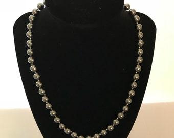 Tridacna shell necklace