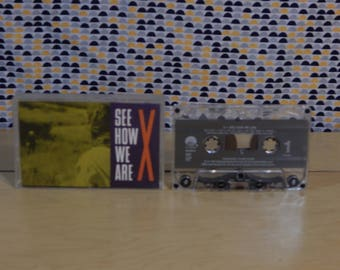 X - See How We Are -Cassette Tape