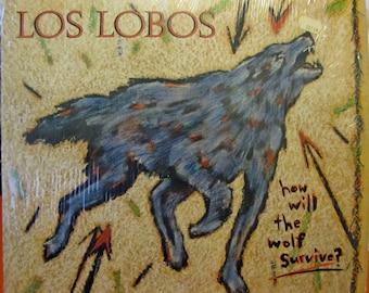 Los Lobos - Will the Wolf Survive Vinyl Record 1984 Slash Records