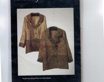 Sewing Pattern NM267 Wonsizfitz Almostall Loose Fitting Jacket Pullover Nancy Mirman  UNCUT