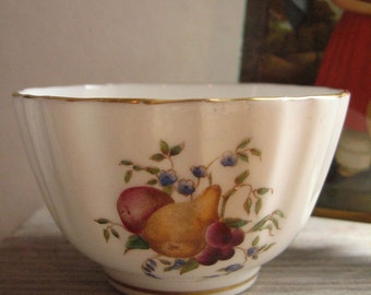 bone china vintage small bowl with fruit