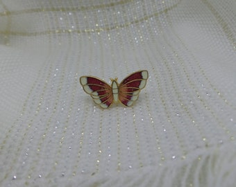 Cloisonne Butterfly Pin