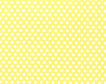 Michael Miller Kiss Dot in yellow