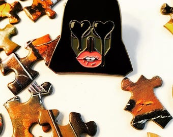 Force Too Strong -Lapel Pin- (FREE SHIPPING IN U.S.)