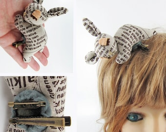 MADE-TO-ORDER ( 1 - 2 Weeks) Sleeping Bambi Baby Corsage (Hair Clip for Children & Adults) -Chic Newspaper