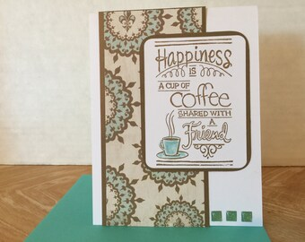 Coffee Friend Card F09