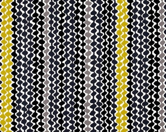 Gray Beads Fabric, Fat Quarter, Fresh Bloom by Michele D'Amore for Benartex