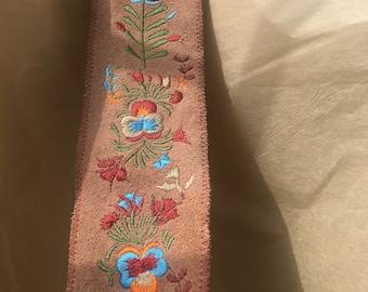 Vintage Suede Belt