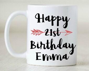 Happy Birthday, Custom Age, Custom Birthday Gift, Coworker, Boss, Office Gift
