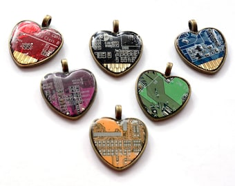 Heart from printed circuit board