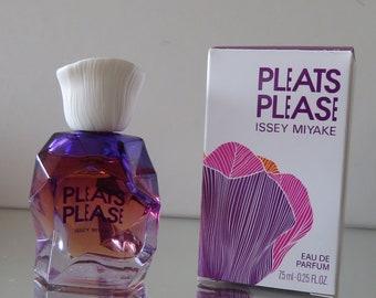 Pleats Please by Issey Miyake  - FULL - Miniature perfume bottle - Eau de Toilette Parfum-
