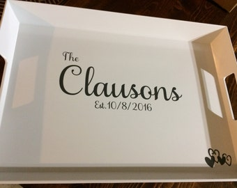 Personalized Serving Tray, Custom Serving Tray, Breakfast Tray, Design a Serving Tray, Custom Designs
