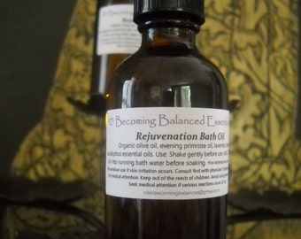 Rejuvenation Bath Oil