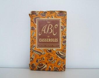 S A L E Vintage Cookbook - The ABC of Casseroles (1954)