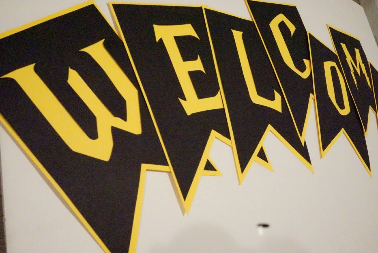 Harry Potter Baby Shower Banner Hufflepuff Event Banners