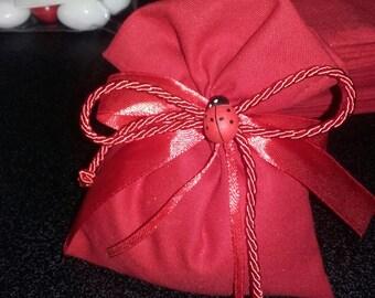 Red bag for graduation