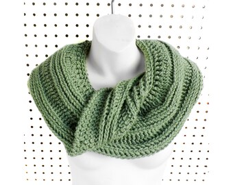 Crochet Pattern Infinity Scarf, Crochet Scarf Scarf Pattern, Crochet Cowl Pattern Cowl Pattern, Cowl Scarf, Snake Scarf Pattern