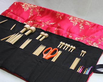 Knitting Needle Case PDF Pattern by Skadoot on Etsy