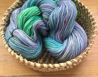 Insouciant Studios Hand Dyed Sock Yarn Quickening
