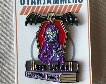 """Animated Crypt Keeper 1.75"""" Soft Enamel Pin Horror Halloween Limited Edition Tales from the Crypt"""