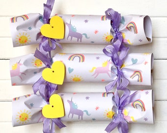 Unicorn and Rainbow Party Cracker